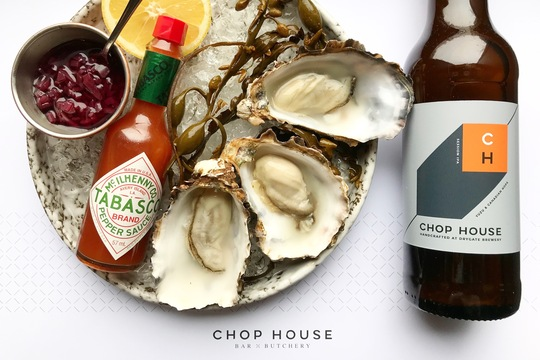 OYSTERS AT CHOP HOUSE